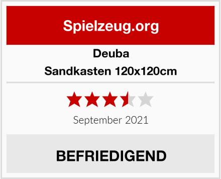 Deuba Sandkasten 120x120cm Test