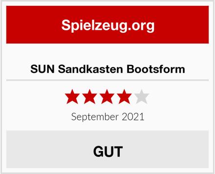 No Name SUN Sandkasten Bootsform Test