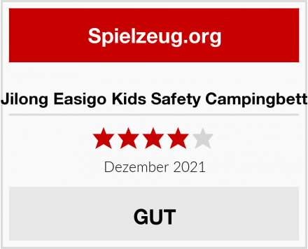 Jilong Easigo Kids Safety Campingbett  Test