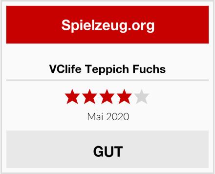 VClife Teppich Fuchs Test