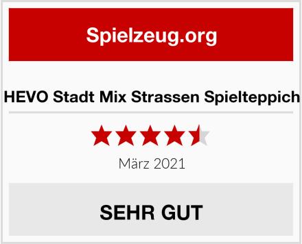 No Name HEVO Stadt Mix Strassen Spielteppich Test