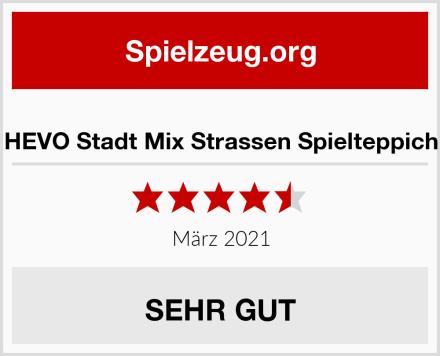 HEVO Stadt Mix Strassen Spielteppich Test