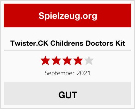 Twister.CK Childrens Doctors Kit Test