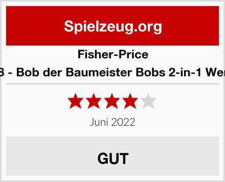 Fisher-Price Mattel DGY48 - Bob der Baumeister Bobs 2-in-1 Werkzeugkasten Test