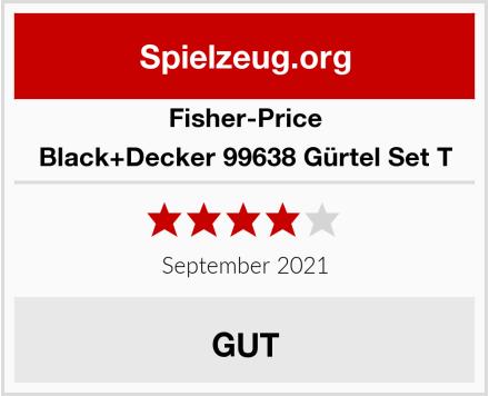 Fisher-Price Black+Decker 99638 Gürtel Set T Test