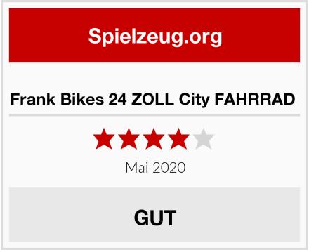 Frank Bikes 24 ZOLL City FAHRRAD  Test