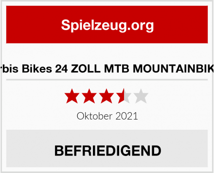 Orbis Bikes 24 ZOLL MTB MOUNTAINBIKE  Test