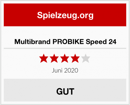 No Name Multibrand PROBIKE Speed 24 Test