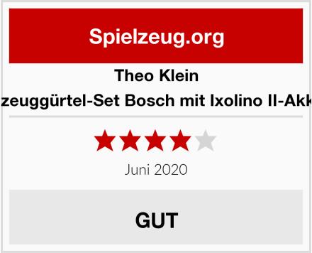 Theo Klein 8313 - Werkzeuggürtel-Set Bosch mit Ixolino II-Akkuschrauber Test