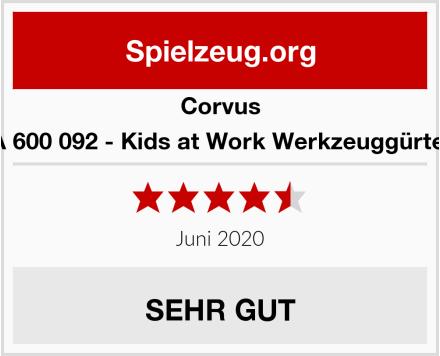 CORVUS A 600 092 - Kids at Work Werkzeuggürtel Test