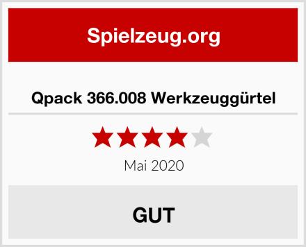 Qpack 366.008 Werkzeuggürtel Test