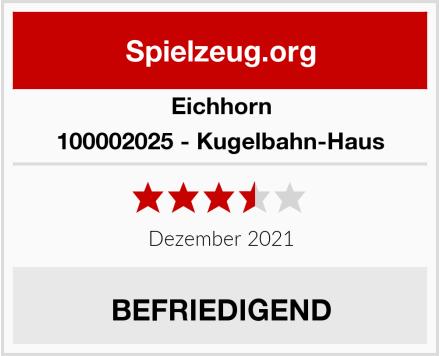 Eichhorn 100002025 - Kugelbahn-Haus Test