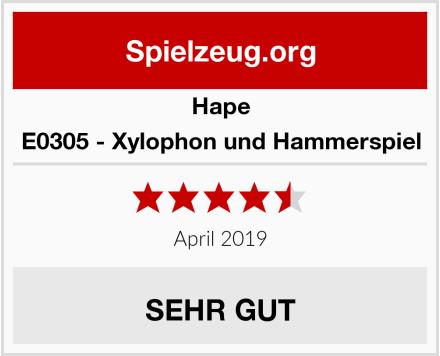 Hape E0305 - Xylophon und Hammerspiel Test