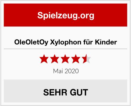 OleOletOy Xylophon für Kinder Test