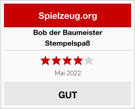 Bob der Baumeister Stempelspaß Test