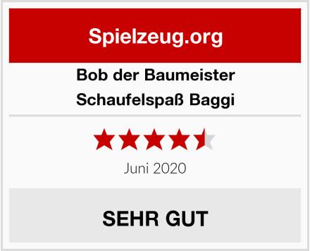 Bob der Baumeister Schaufelspaß Baggi Test