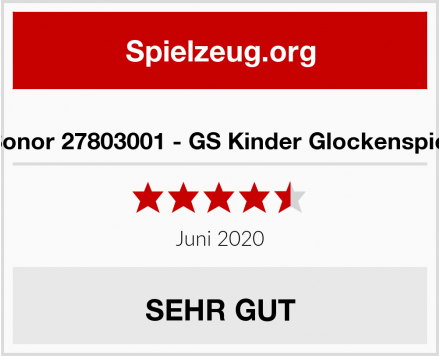 No Name Sonor 27803001 - GS Kinder Glockenspiel Test