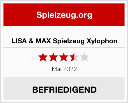 LISA & MAX Spielzeug Xylophon Test