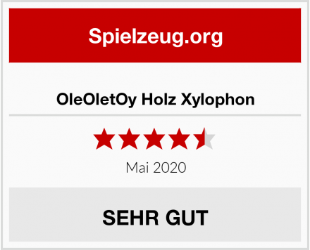No Name OleOletOy Holz Xylophon Test