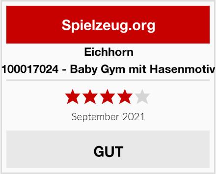 Eichhorn 100017024 - Baby Gym mit Hasenmotiv Test