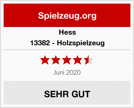 Hess 13382 - Holzspielzeug Test