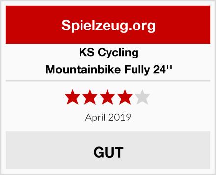 KS Cycling Mountainbike Fully 24'' Test