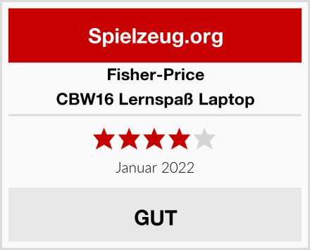 Fisher-Price CBW16 Lernspaß Laptop Test