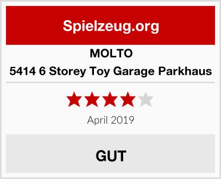 MOLTO 5414 6 Storey Toy Garage Parkhaus Test