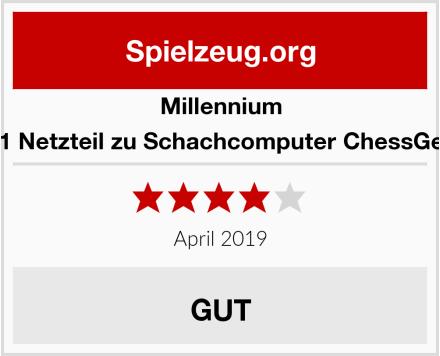 Millennium M811 Netzteil zu Schachcomputer ChessGenius Test