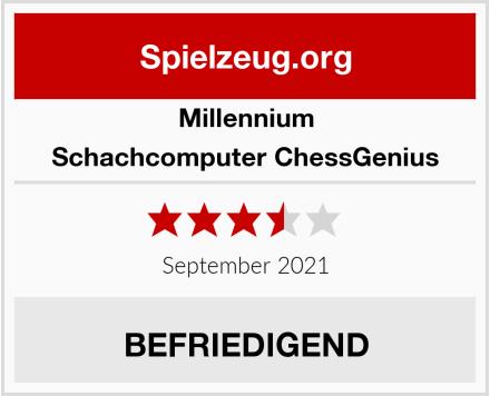 Millennium Schachcomputer ChessGenius Test