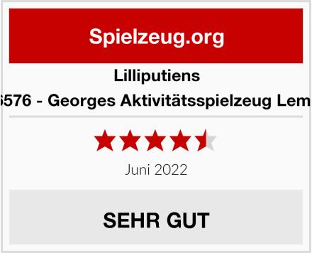 Lilliputiens 86576 - Georges Aktivitätsspielzeug Lemur Test