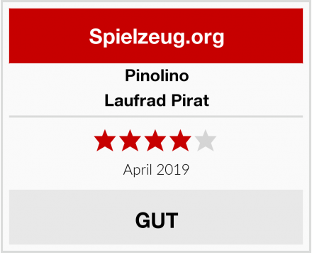 Pinolino Laufrad Pirat Test