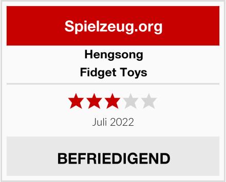 Hengsong Fidget Toys Test