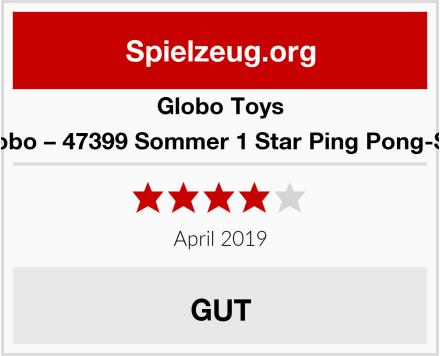 Globo Toys Globo – 47399 Sommer 1 Star Ping Pong-Set Test