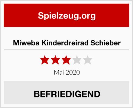 Miweba Kinderdreirad Schieber Test