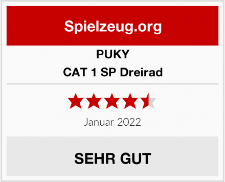 PUKY CAT 1 SP Dreirad Test