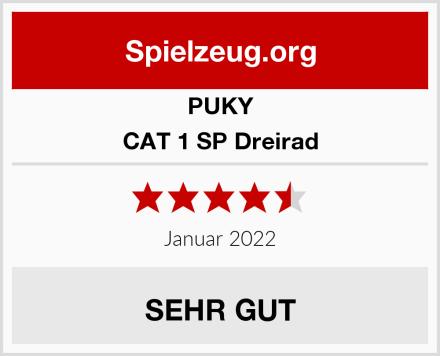 PUKY CAT 1 SP Dreirad Test