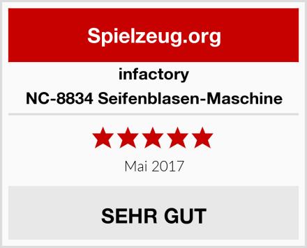 infactory NC-8834 Seifenblasen-Maschine Test