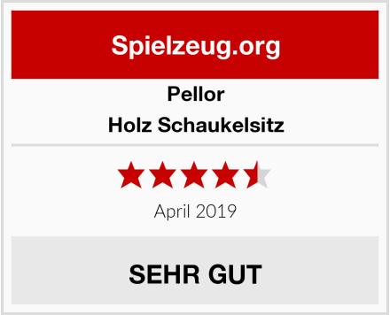 Pellor Holz Schaukelsitz Test