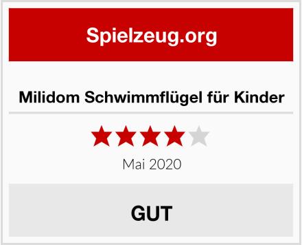 No Name Milidom Schwimmflügel für Kinder Test
