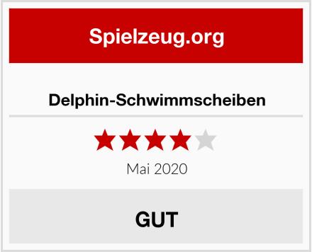 Delphin-Schwimmscheiben Test