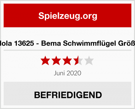 friedola 13625 - Bema Schwimmflügel Größe 00 Test
