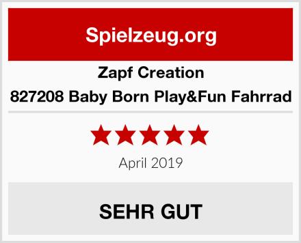 Zapf Creation 827208 Baby Born Play&Fun Fahrrad Test