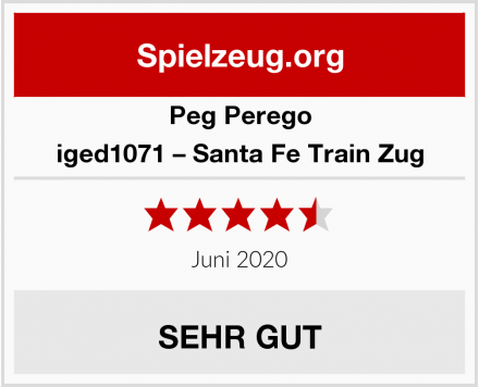 Peg Perego iged1071 – Santa Fe Train Zug Test