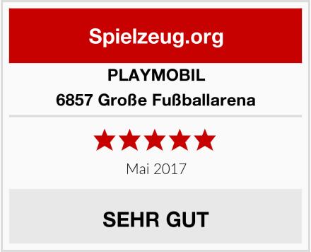 PLAYMOBIL 6857 Große Fußballarena Test