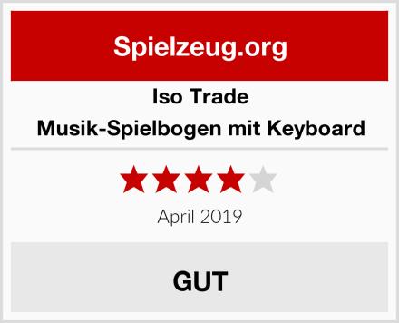 Iso Trade Musik-Spielbogen mit Keyboard Test