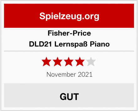 Fisher-Price DLD21 Lernspaß Piano Test
