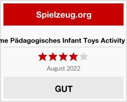 Wishtime Pädagogisches Infant Toys Activity Center Test