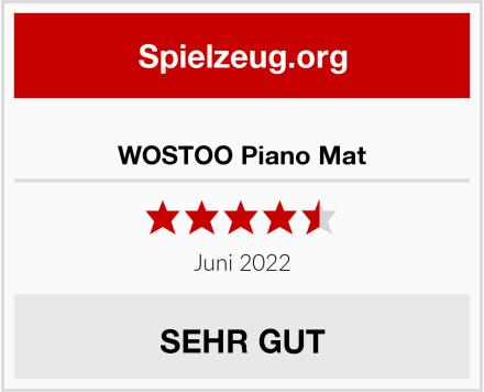 WOSTOO Piano Mat Test
