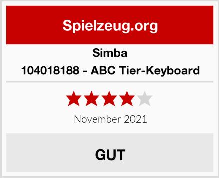 Simba 104018188 - ABC Tier-Keyboard Test